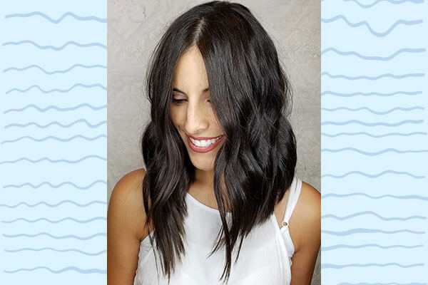 How To Style Your Lob In 6 Different Ways Bebeautiful