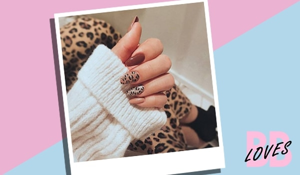 We never thought we would try animal print nail art...until now!