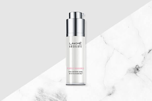 Applying serum