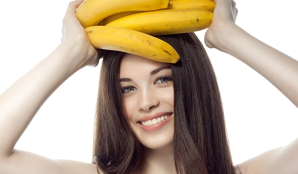Go bananas and make the most of its peel to treat stubborn acne scars