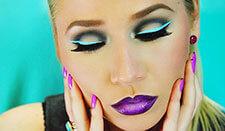 BB Trend Alert—Neon lights eye makeup