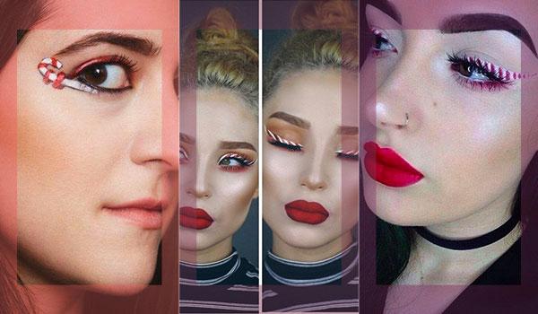BB Trend Alert—Candy Cane Eyeliner