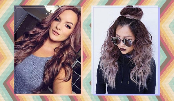 BB Trend Alert—Chocolate Mauve Hair