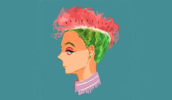 BB Trend Alert - Watermelon Hair Colour