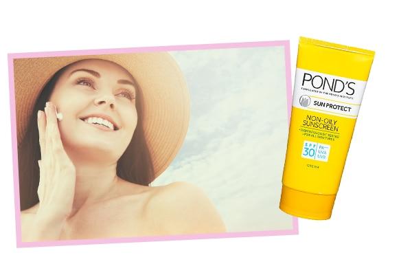 A sunscreen