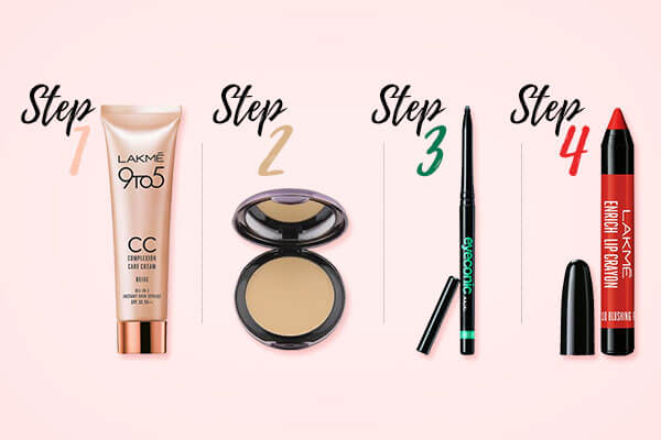 beauty look for your first day at college
