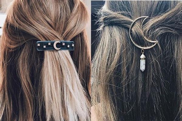 Dainty hair pins
