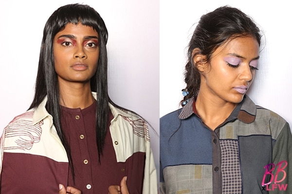 beauty trends spotted lakme fashion week day2