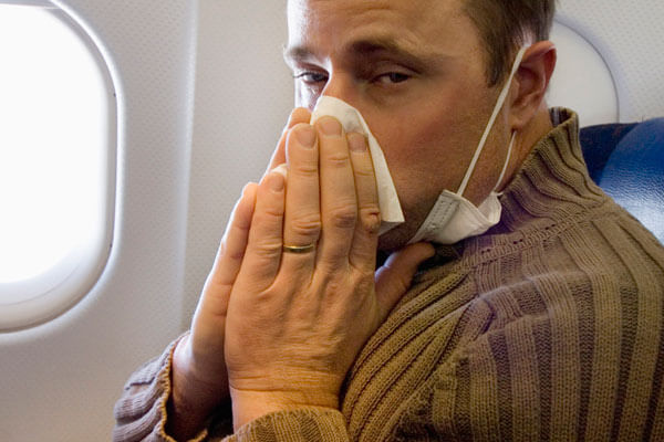 #3: Being sick in-flight