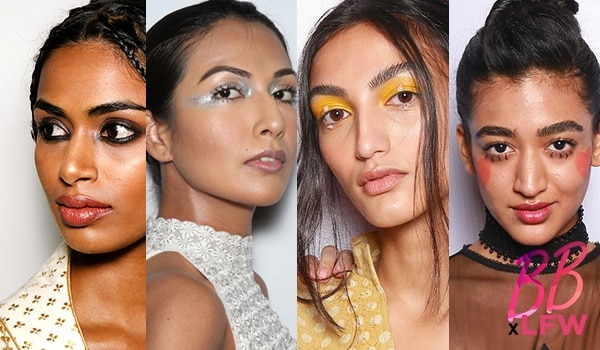 You don't wanna miss the best beauty looks from Day 1 of Lakmé Fashion Week S/R '19