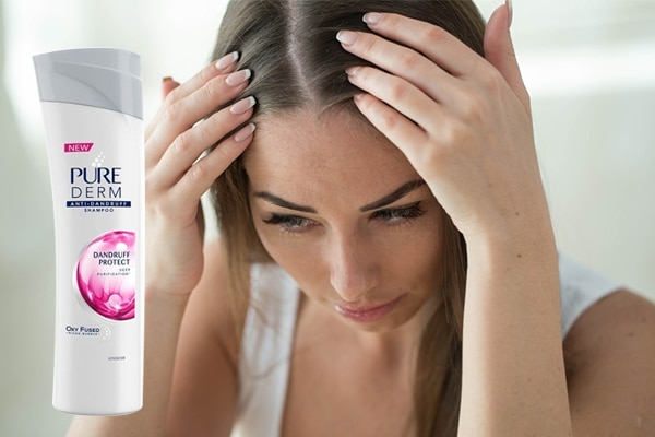 Pure Derm Dandruff Protect Anti-Dandruff Shampoo—for the uninvited snowflakes on your shoulder