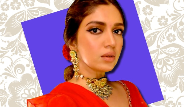 Get Bhumi Pednekar's signature subtle brown eye makeup look in a few easy steps