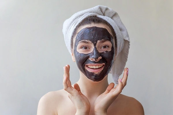 #4 Try an activated charcoal mask