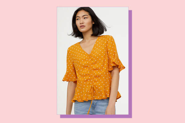 blouses in summery from H and M India Online