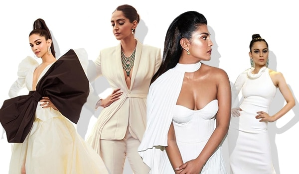 All wore white, yet these Bollywood celebrities' makeup game was sooo different