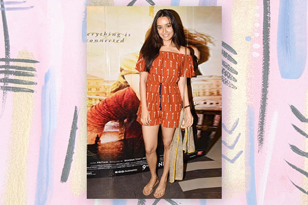 bollywood celeb shraddha kapoor fashion look