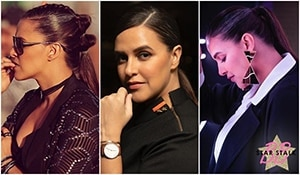 Ponytail 101: 5 kickass ponytail hairstyles approved by boss babe Neha Dhupia