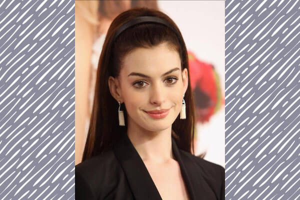 bouffant hairstyle on red carpet