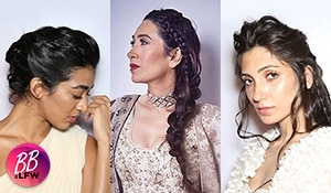Braids reigned supreme on day 5 of the Lakmé Fashion Week S/R '19
