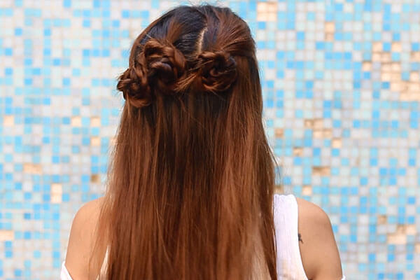 braided hairstyle look