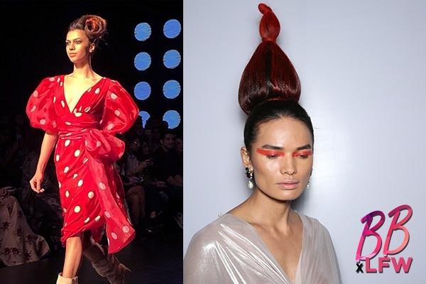 braids buns hair looks day 1 lakme fashion week