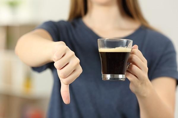 No caffeine please