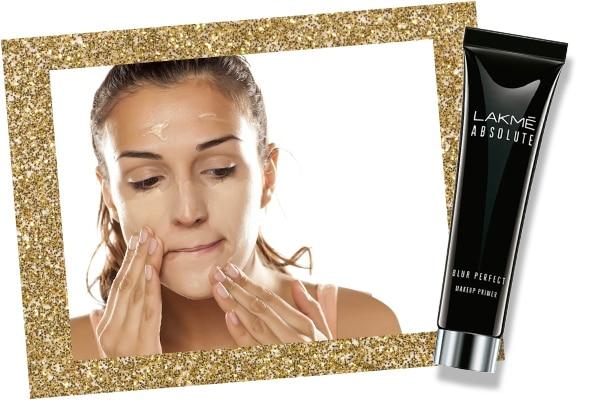 Primer in bridal makeup kit
