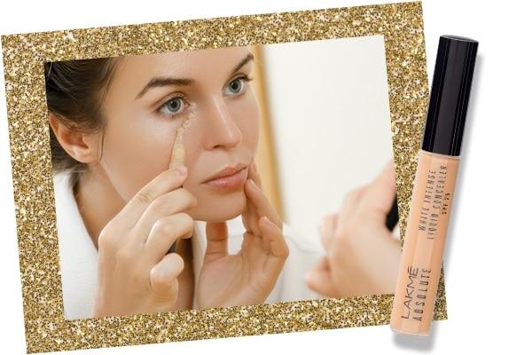 Concealer in bridal makeup kit