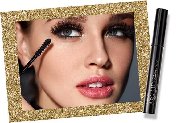 Mascara in bridal makeup kit