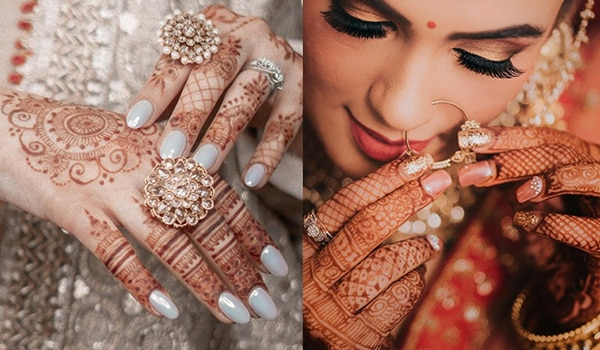 Bridal manicure ideas that are perfect for this wedding season