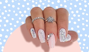 Bridal nail art designs that are perfect for D-day