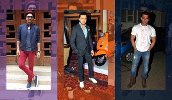 Celeb-inspired shoe styles for men