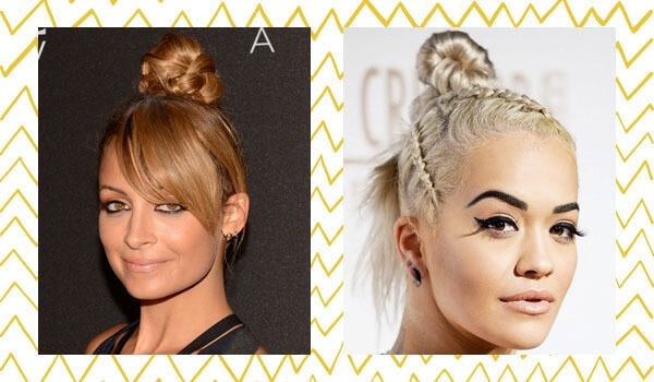 EVERY CELEBRITY BRAIDED TOP KNOT YOU SHOULD TRY NOW
