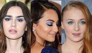 CELEBRITY-INSPIRED BLUE EYESHADOW LOOKS YOU NEED TO TRY NOW