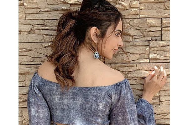 Power ponytail fancy hairstyle