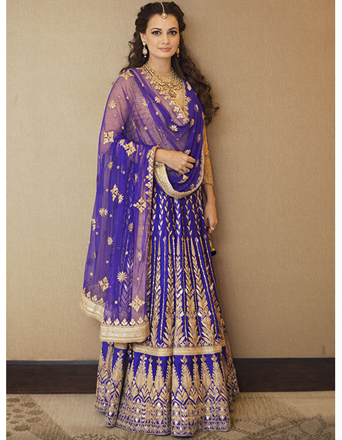DECODING DIA MIRZA'S TRADITIONAL LOOK
