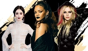 Celebrities show you easy ways to include Goth in your everyday makeup looks