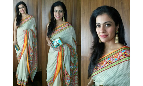 celebs style decoded kajol traditional look 500x300 piccontent