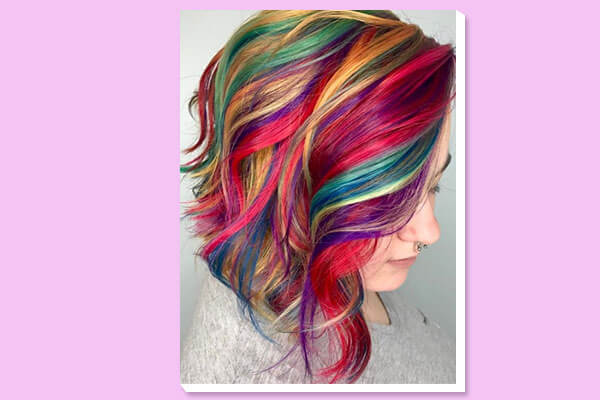 cereal hair colour look