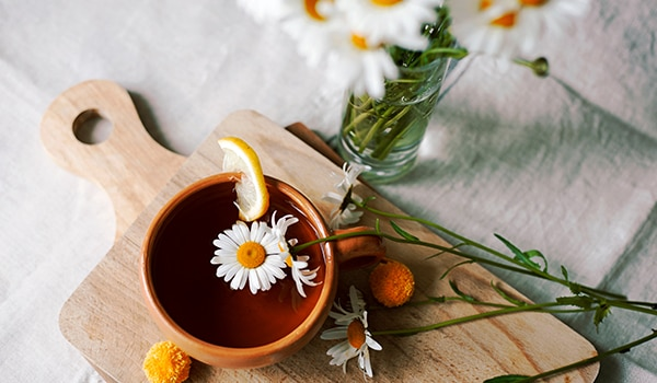 3 genius ways to use chamomile tea in your beauty routine