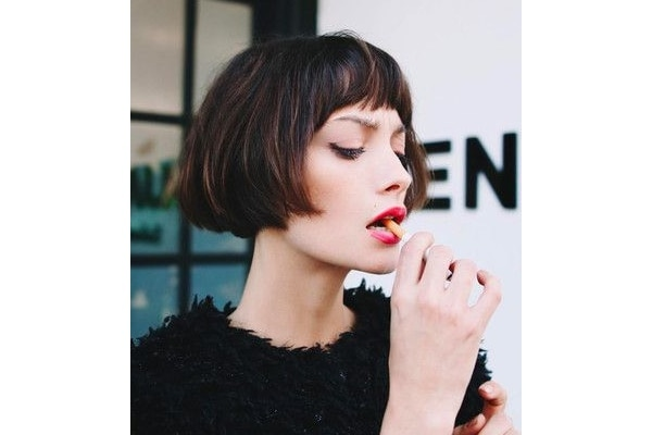 French Bob Haircut For Girls