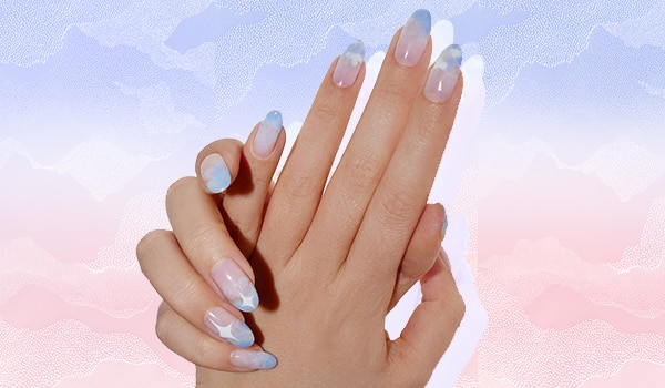 Cloud nail is the latest manicure trend we're going ga-ga over