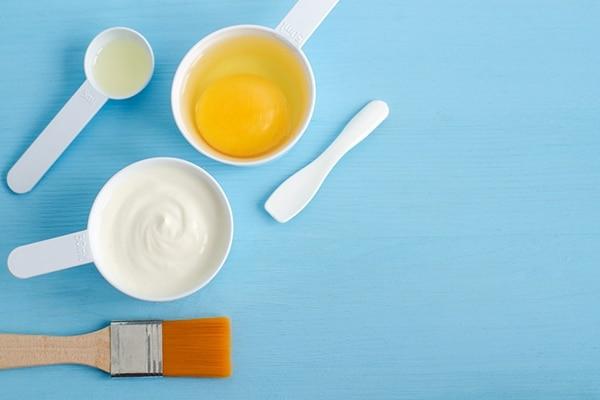 DIY protein treatment