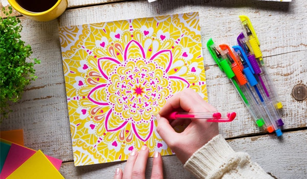 COLOURING BOOKS AREN'T JUST FOR CHILDREN ANYMORE!