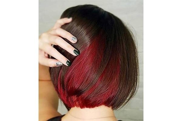 Reds Hair Highlights