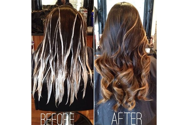 How To Apply Hair Highlights