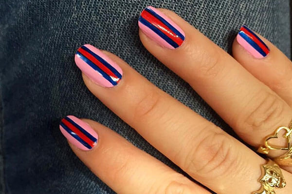 Contoured nails