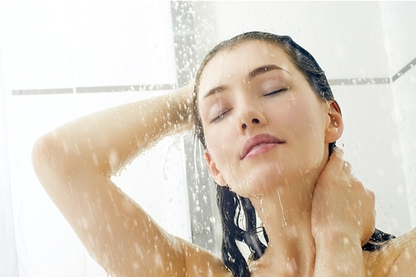 Take a quick shower