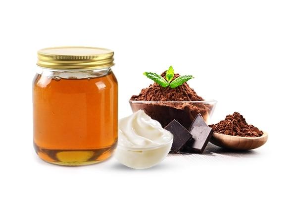 Cocoa + Coffee + Yoghurt + Honey mask