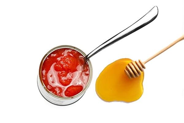 Tomato + Honey mask